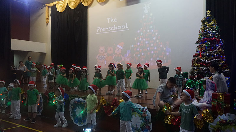 Preschool Christmas Celebration 2018