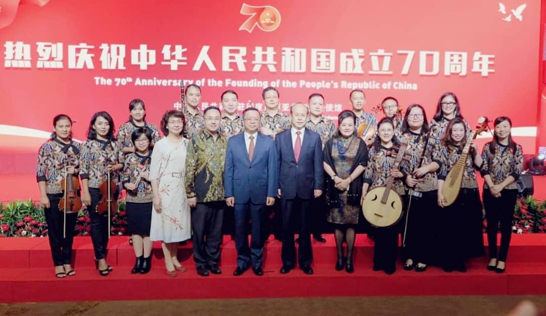 Orkestra Musik Barat dan China Sekolah Bina Bangsa