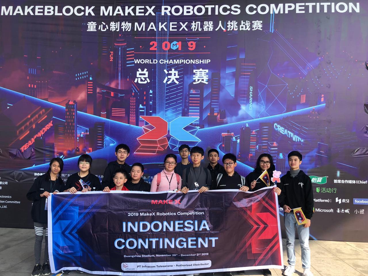 2019 MAKEBLOCK MAKEX ROBOTICS COMPETITION