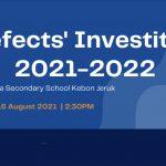 Prefect Investiture AY 21-22